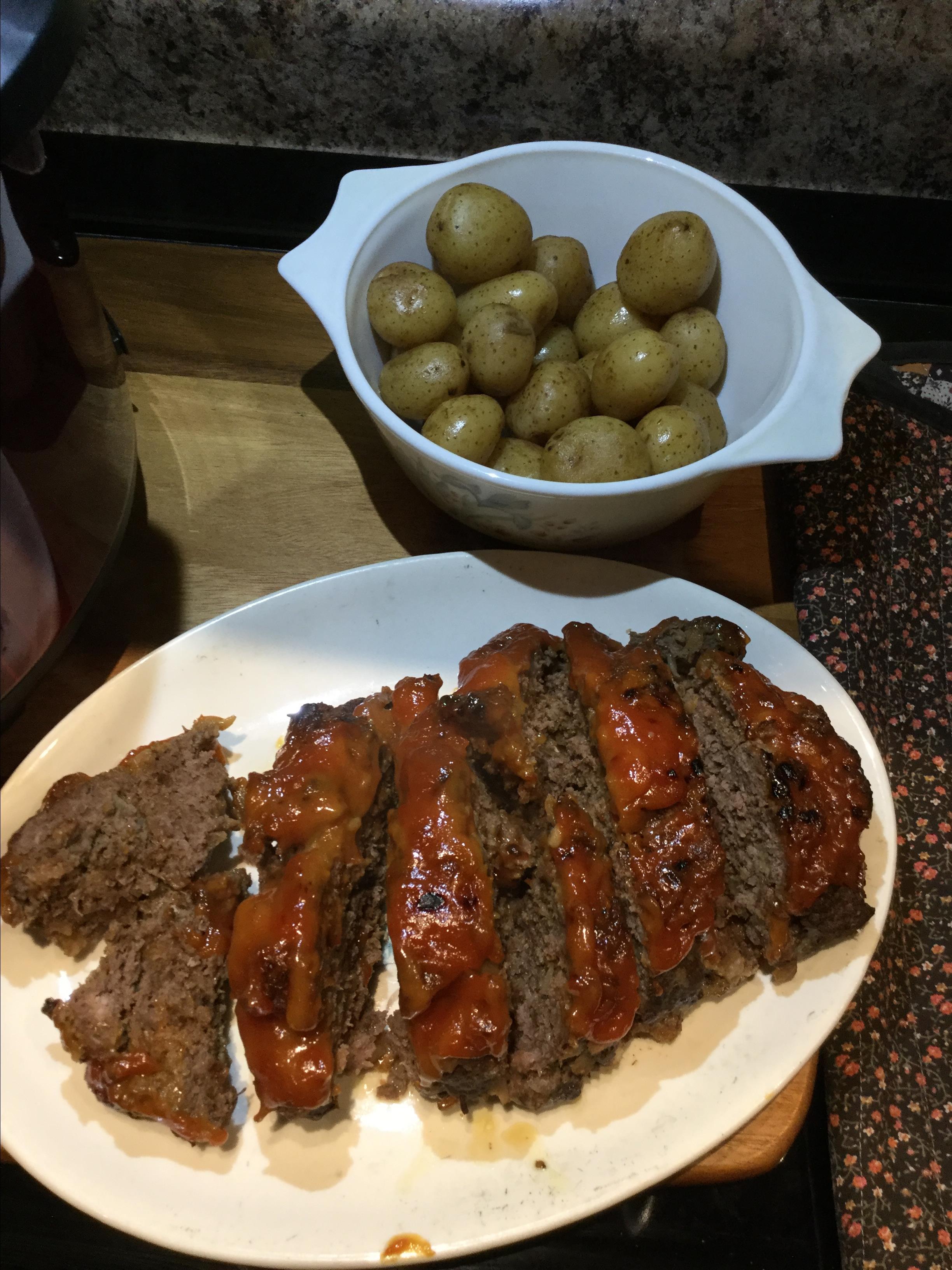 Instant Pot® Meatloaf Lynn Farmakoulas
