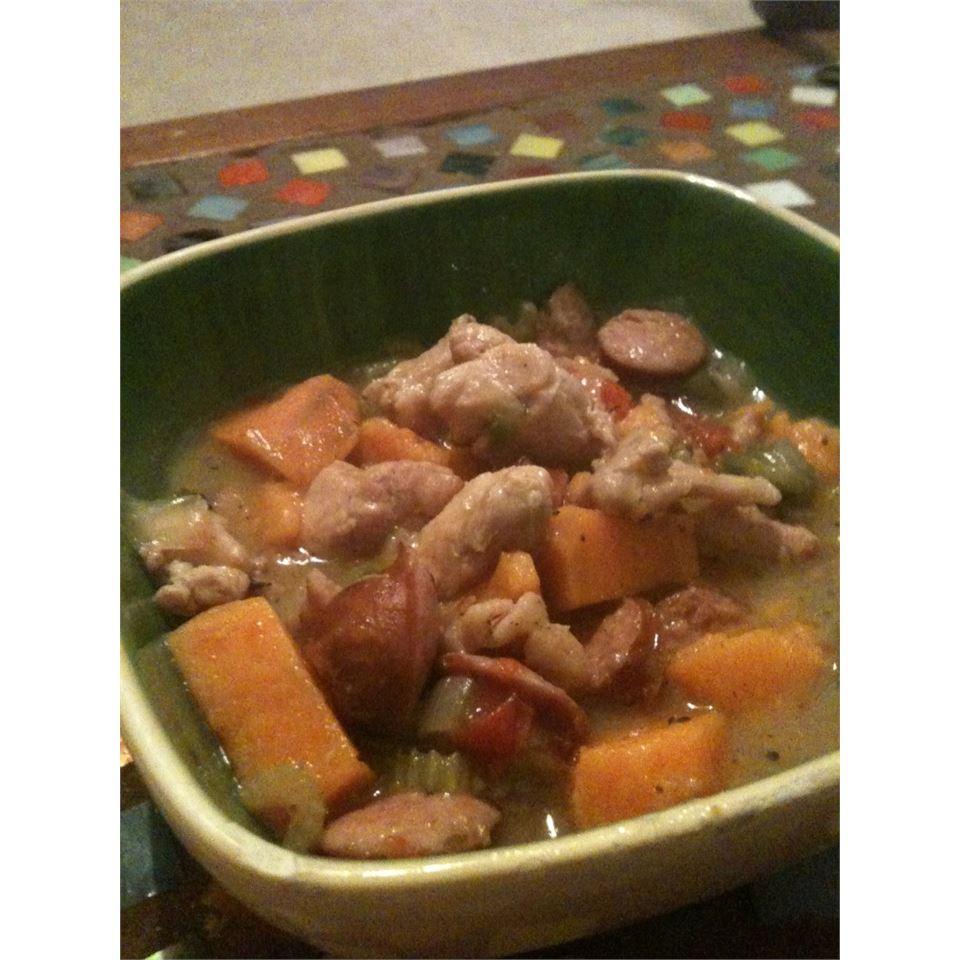 Spicy Turkey Sweet Potato Gumbo Jamie Justice Yost