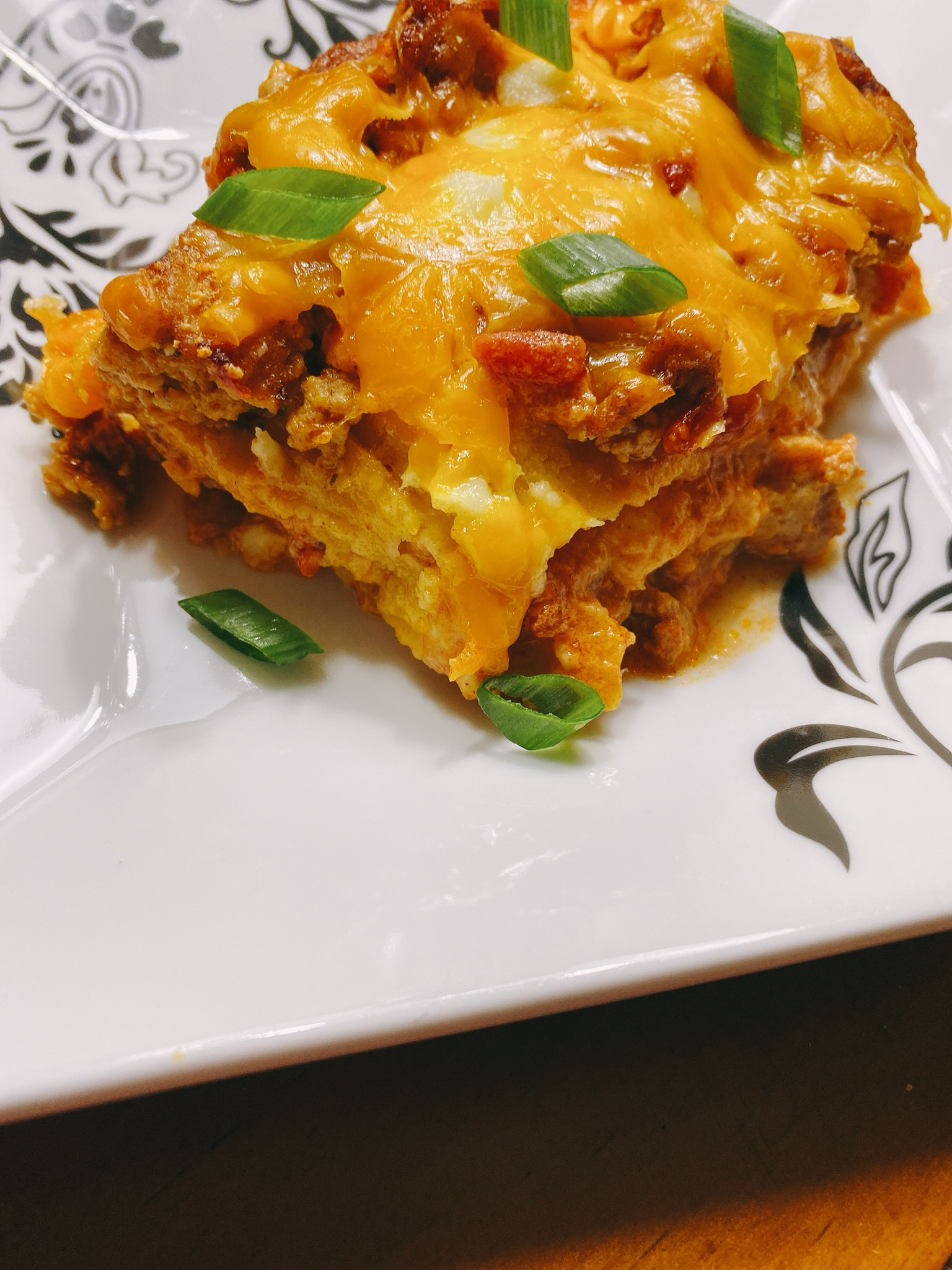 Mexican Chicken Tortilla Lasagna