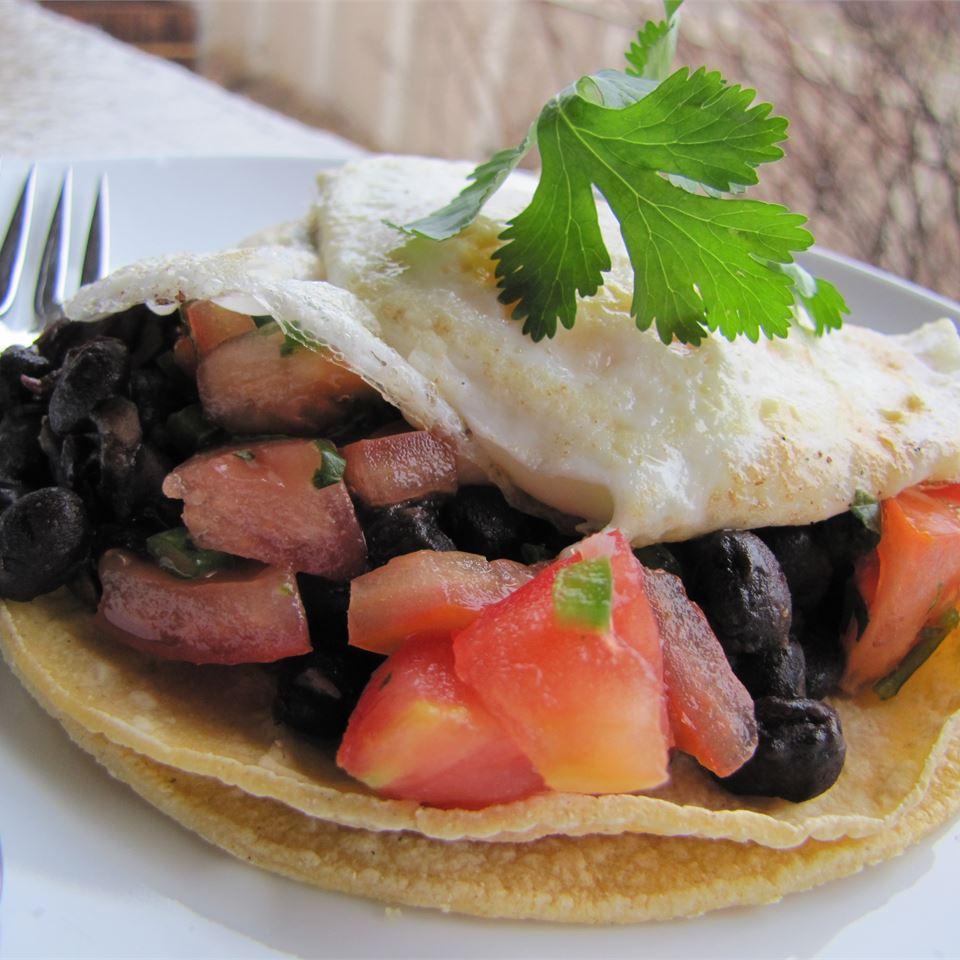Black Bean Huevos Rancheros MrsFisher0729