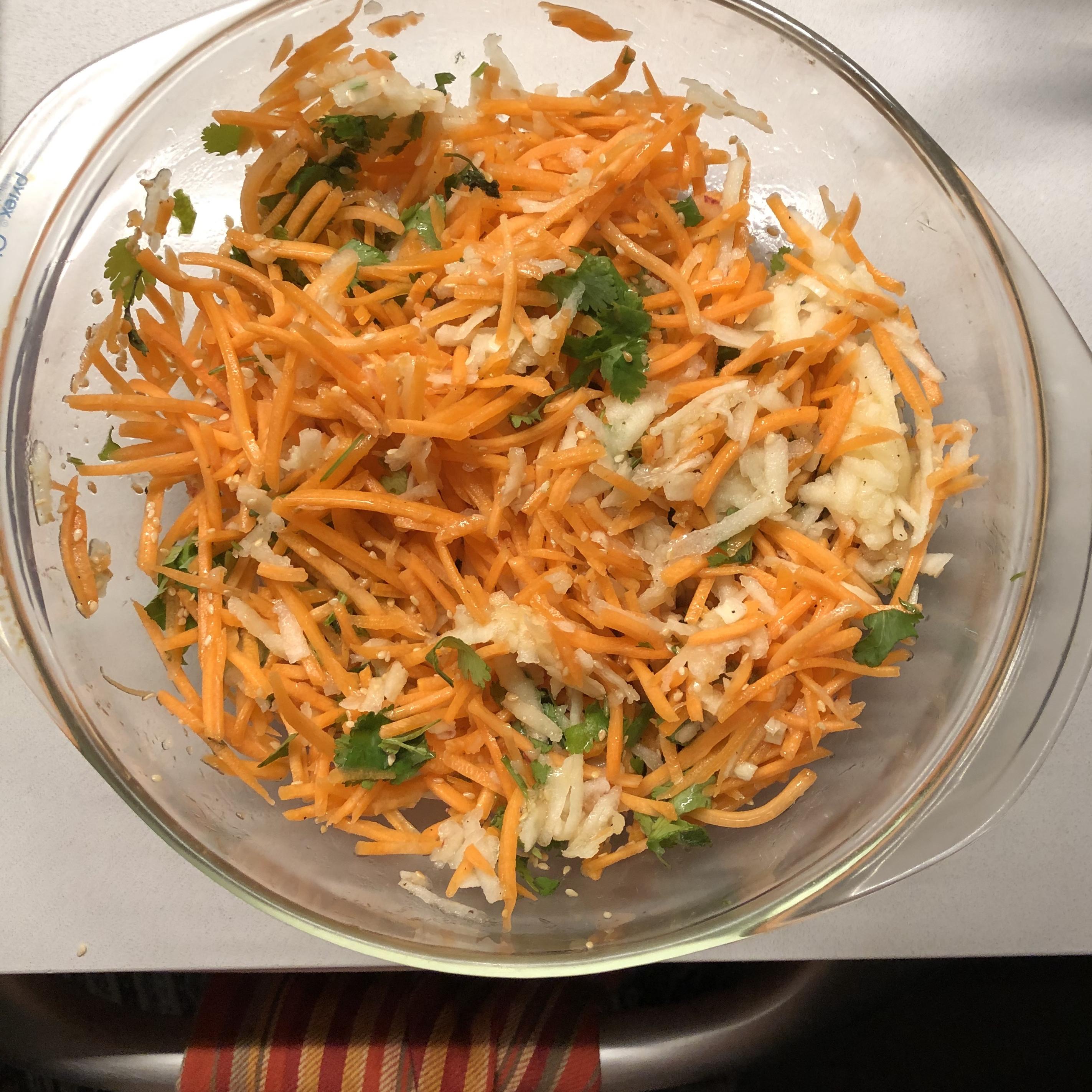 Shredded Apple Carrot Salad Suanne Bernacki
