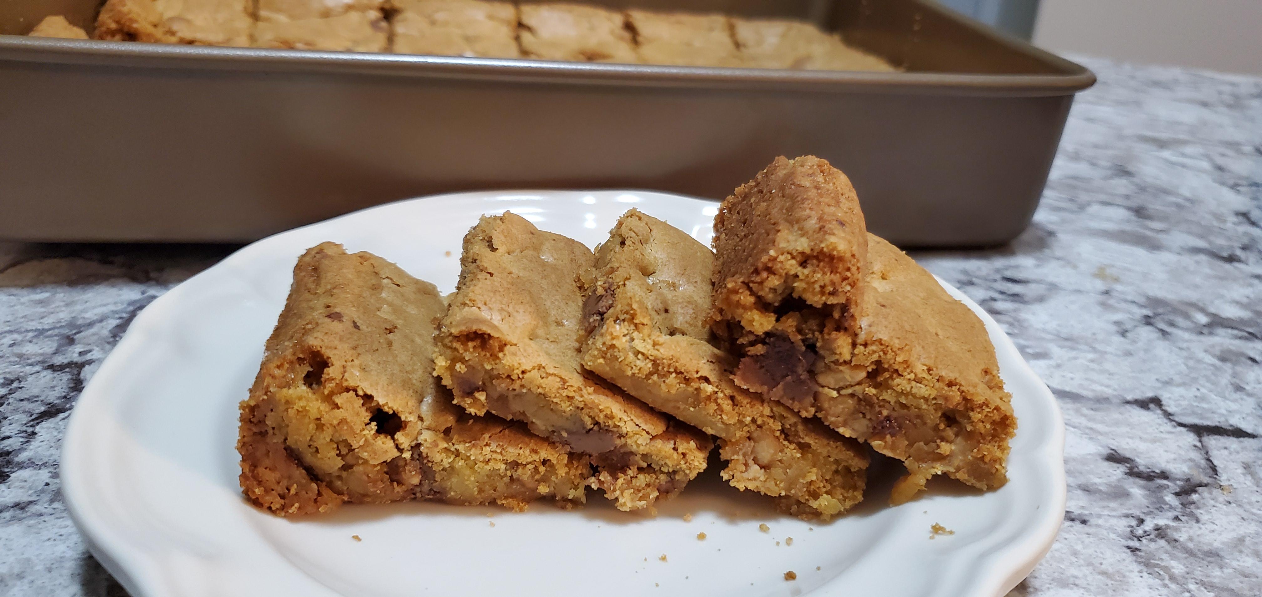 Cake Mix Bar Cookies