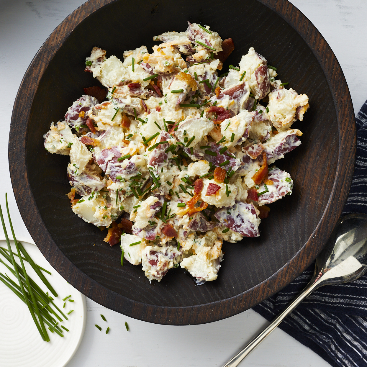 Loaded Baked Potato Salad Pam Lolley