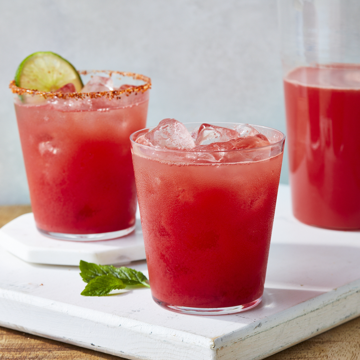Clean and simple, it just takes a blender to whip up this DIY watermelon juice. You can enjoy this refreshing drink with no added sugar on its own, or jazz it up with one of our variations (see below). Source: EatingWell.com, February 2020