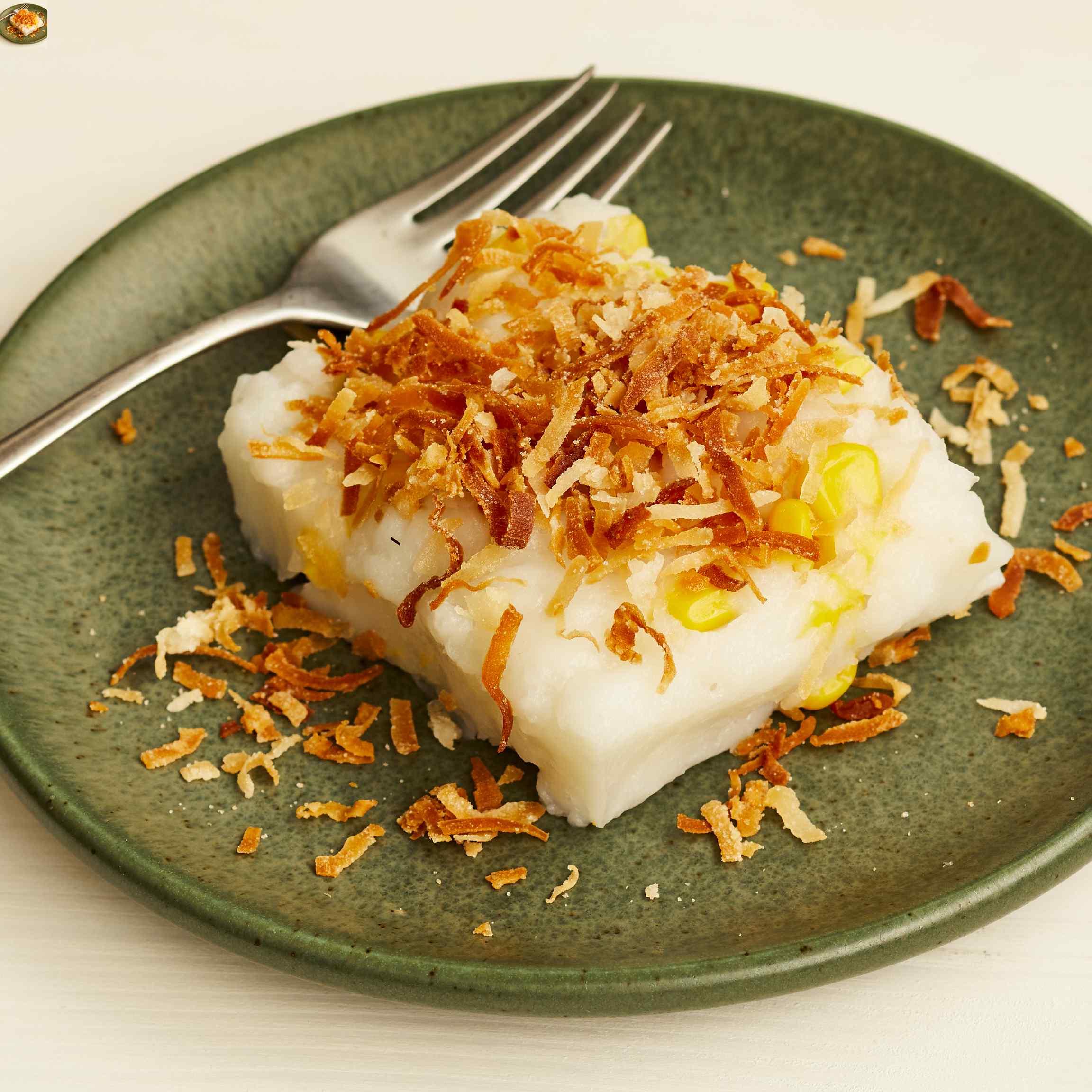 Maja Blanca (Coconut Pudding)