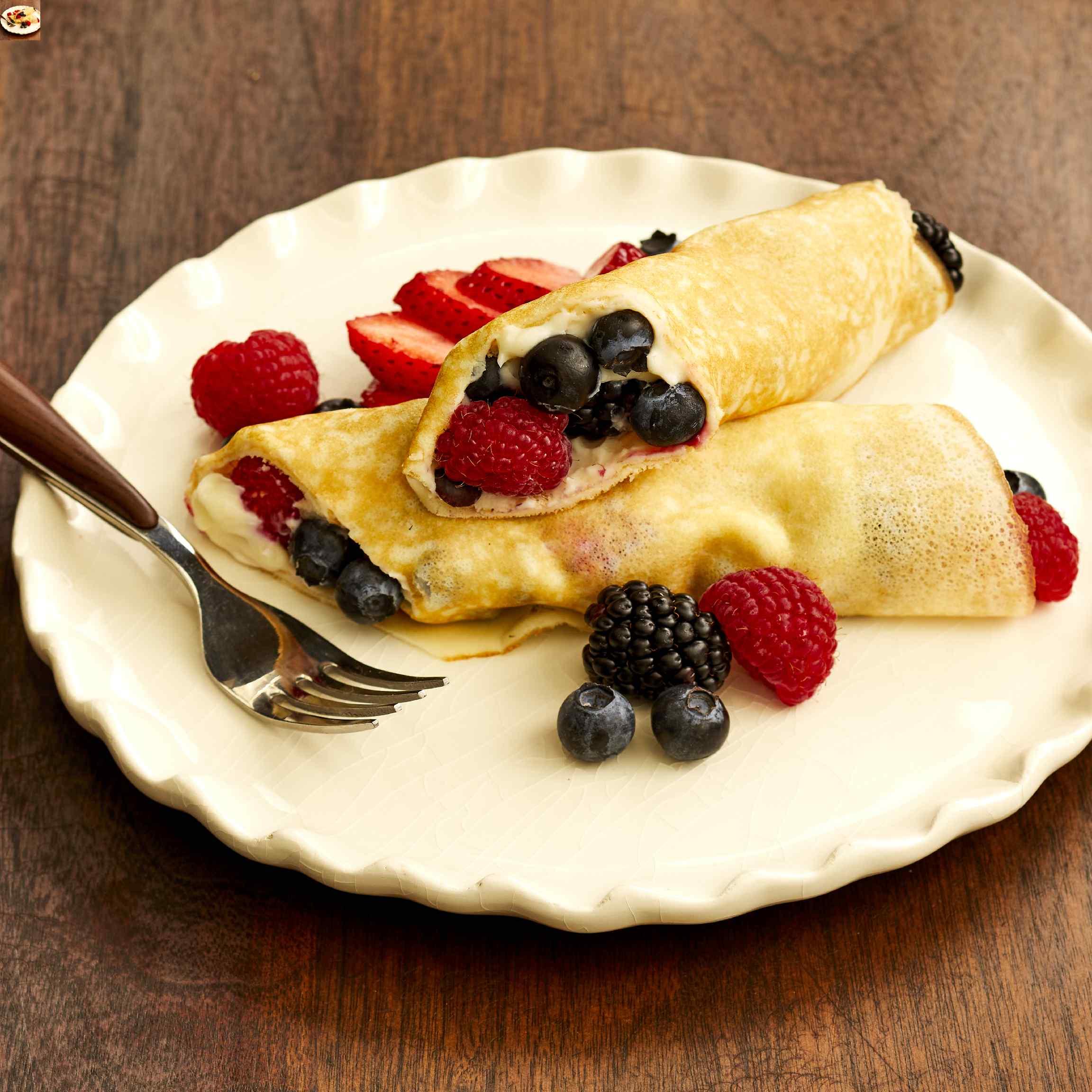 Cheesecake Crepe Roll-Ups Madelynn