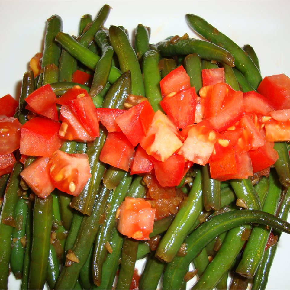 Stir-Fry Spicy Green Beans pelicangal