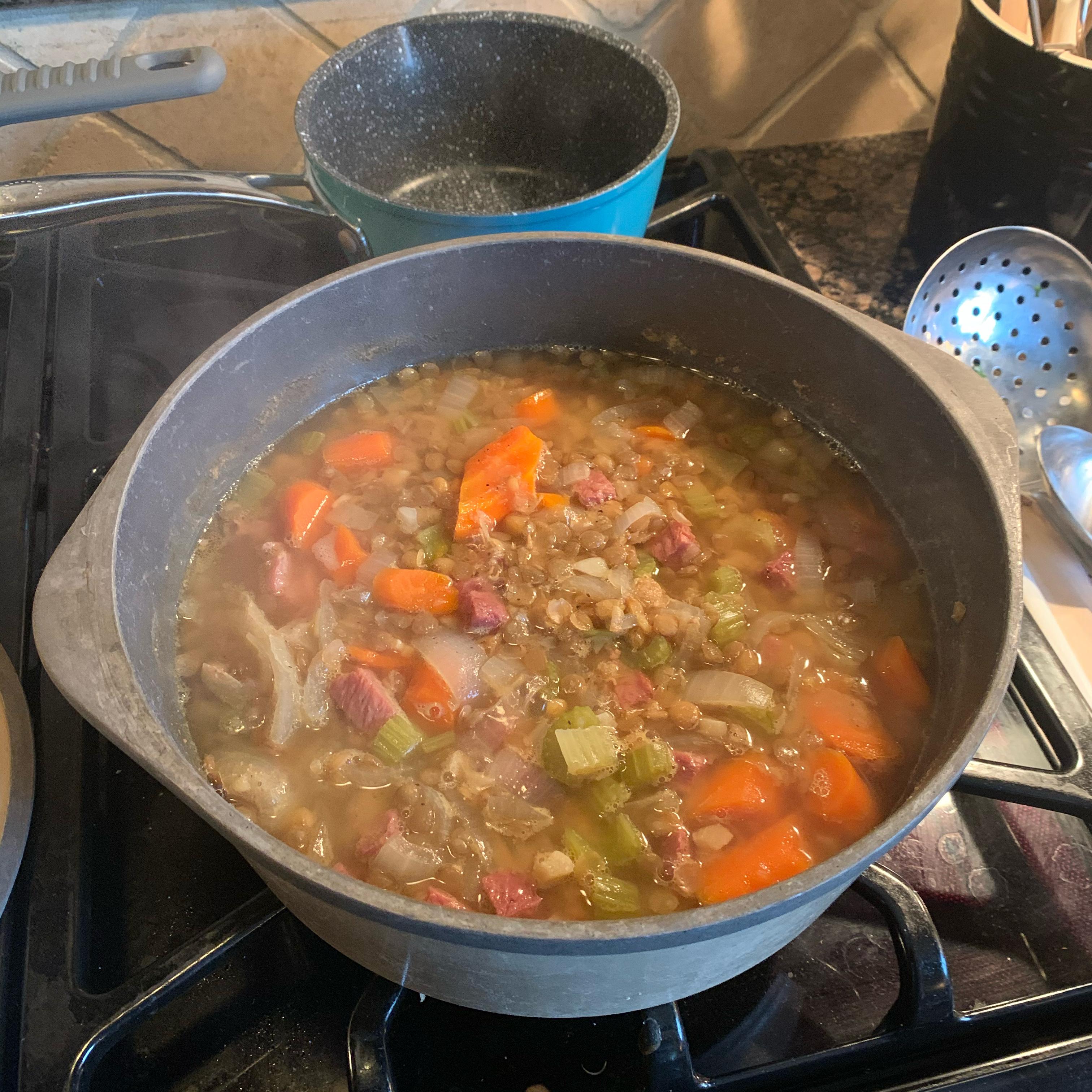 Lentil Ham Soup