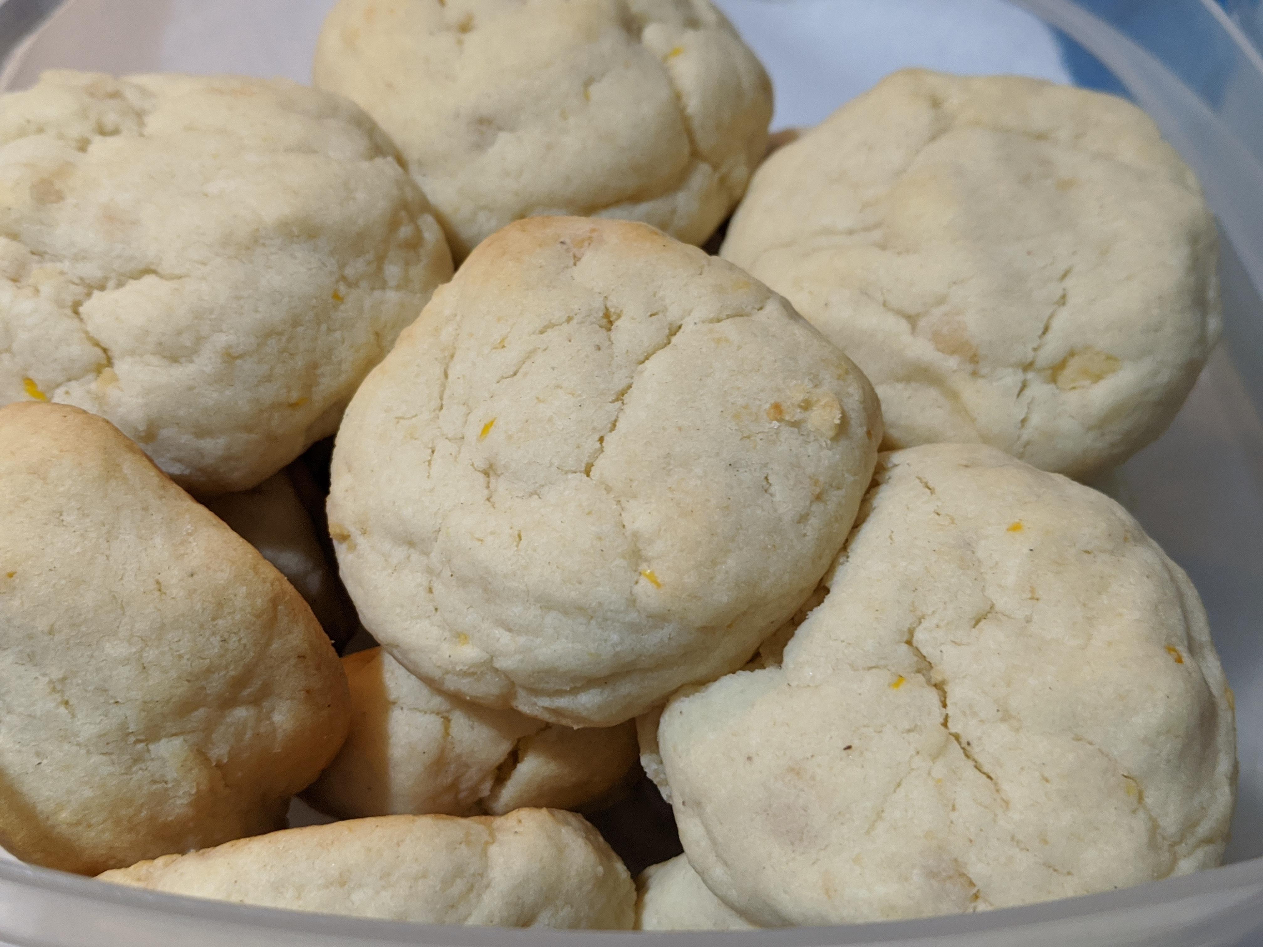 Jen's Almond Cardamom Cookies BakingBot