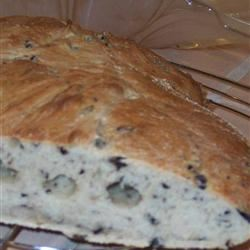 Mediterranean Black Olive Bread CRISPYSTUFF