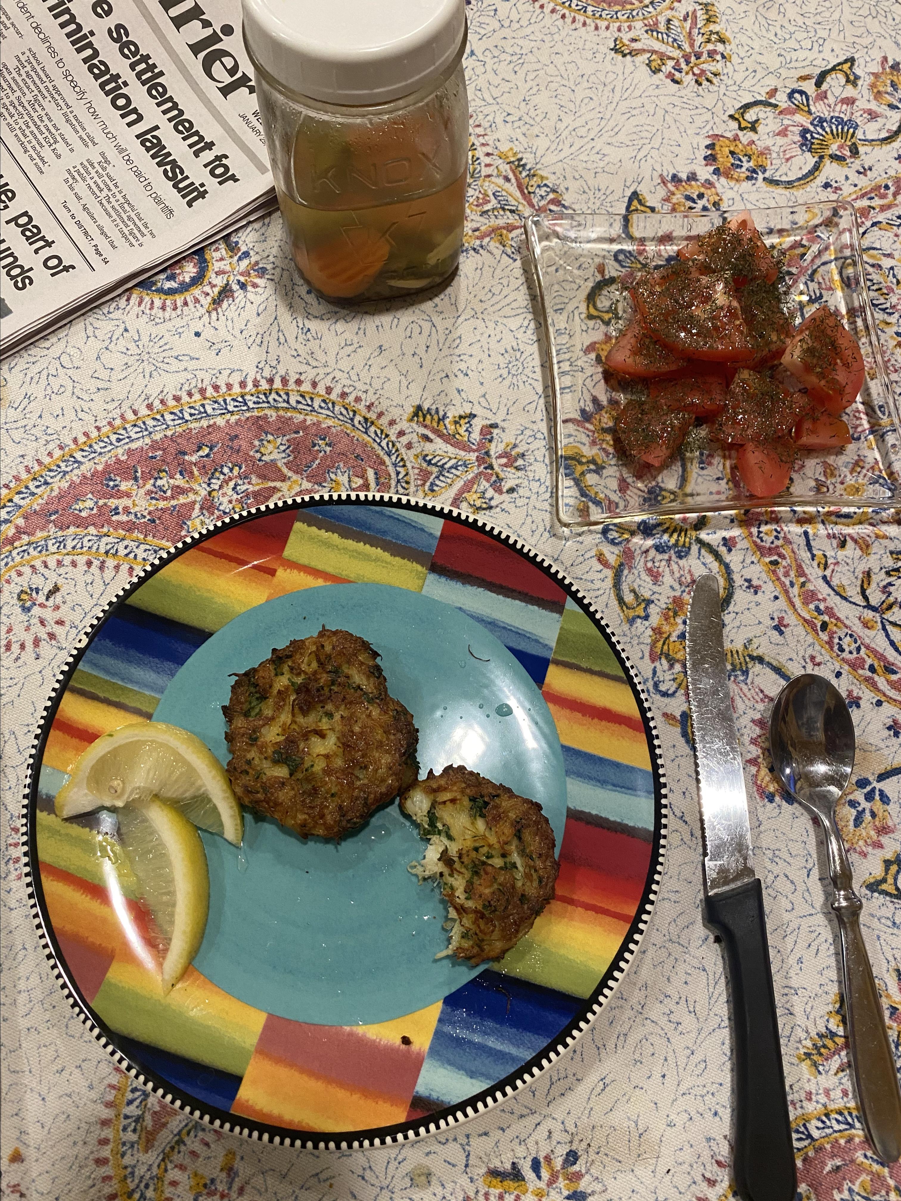 Maryland Crab Cakes II