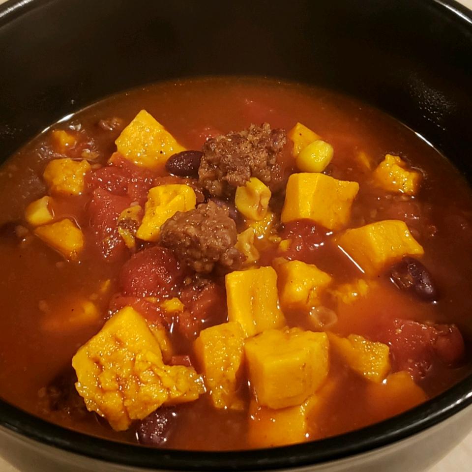 Sausage & Sweet Potato Chili Michelle Simone