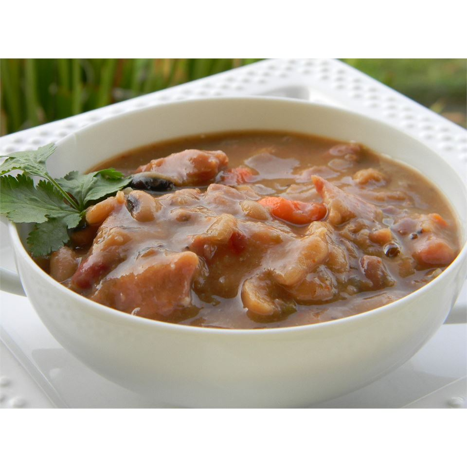 Ten Bean Soup II Baking Nana