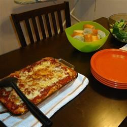 Three Cheese Baked Pasta