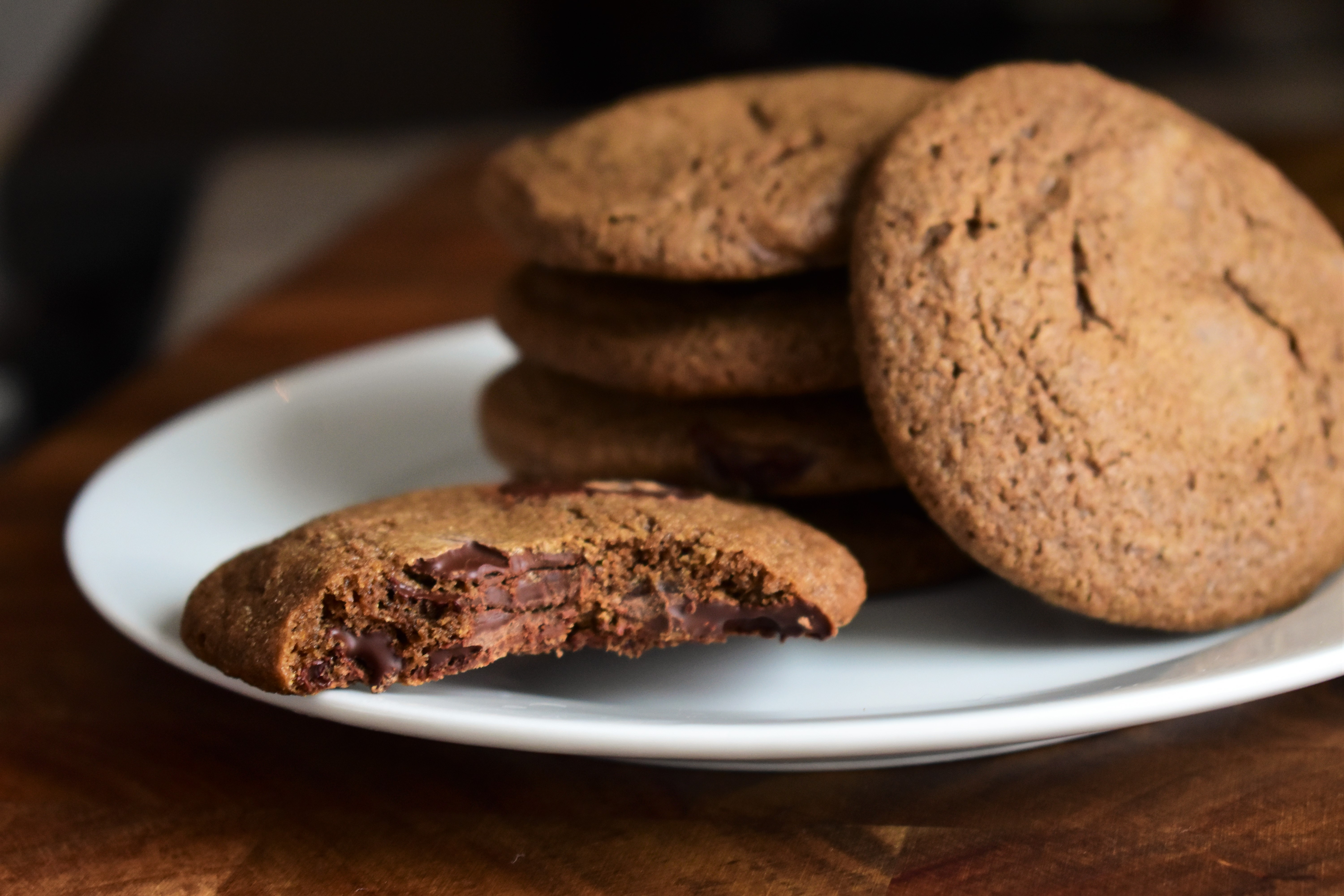 Whole Wheat Chewy Chocolate Chip Cookies