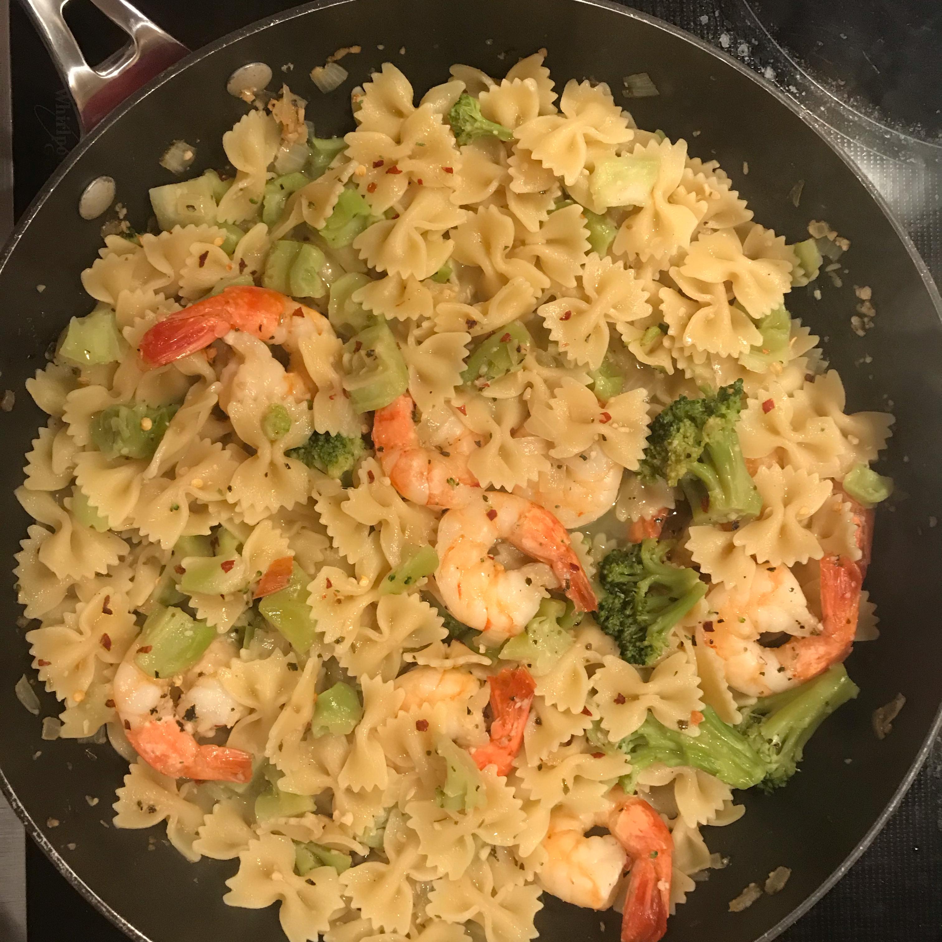 Kahala's Shrimp and Broccoli Toss Kahala