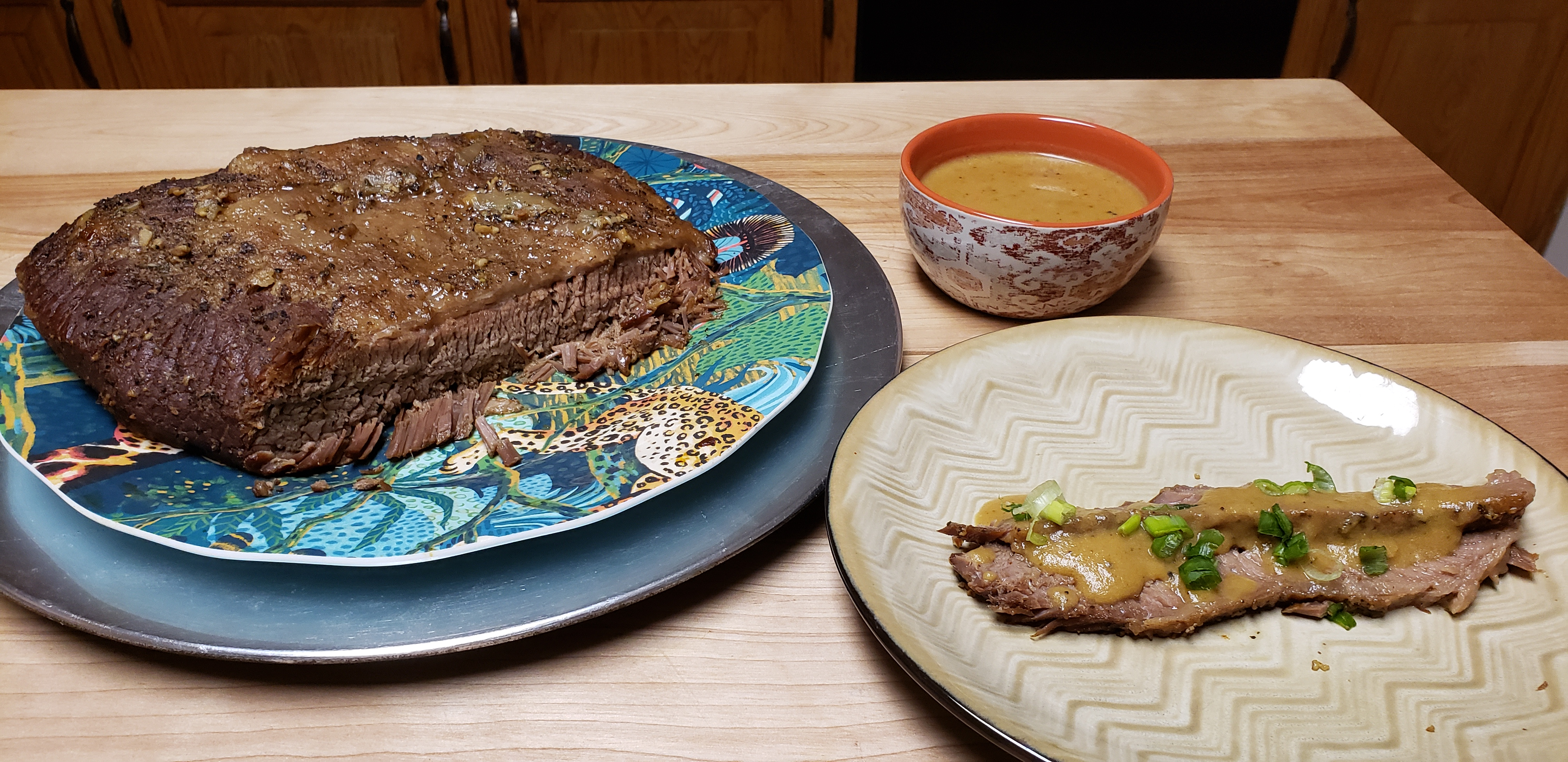 Easy Baked Beef Brisket Dwayne Perry