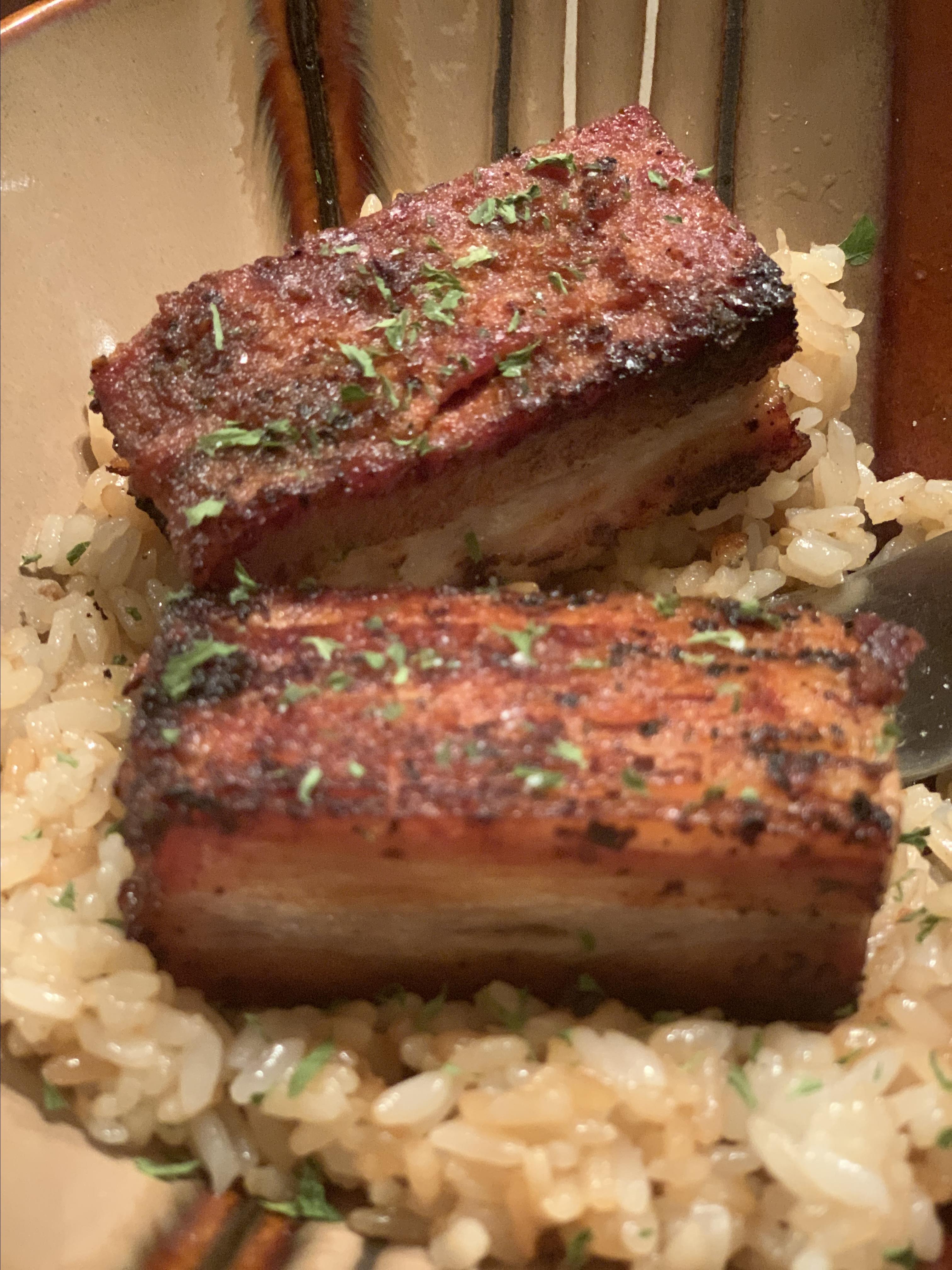 Crispy Pork Belly Jerome Larson
