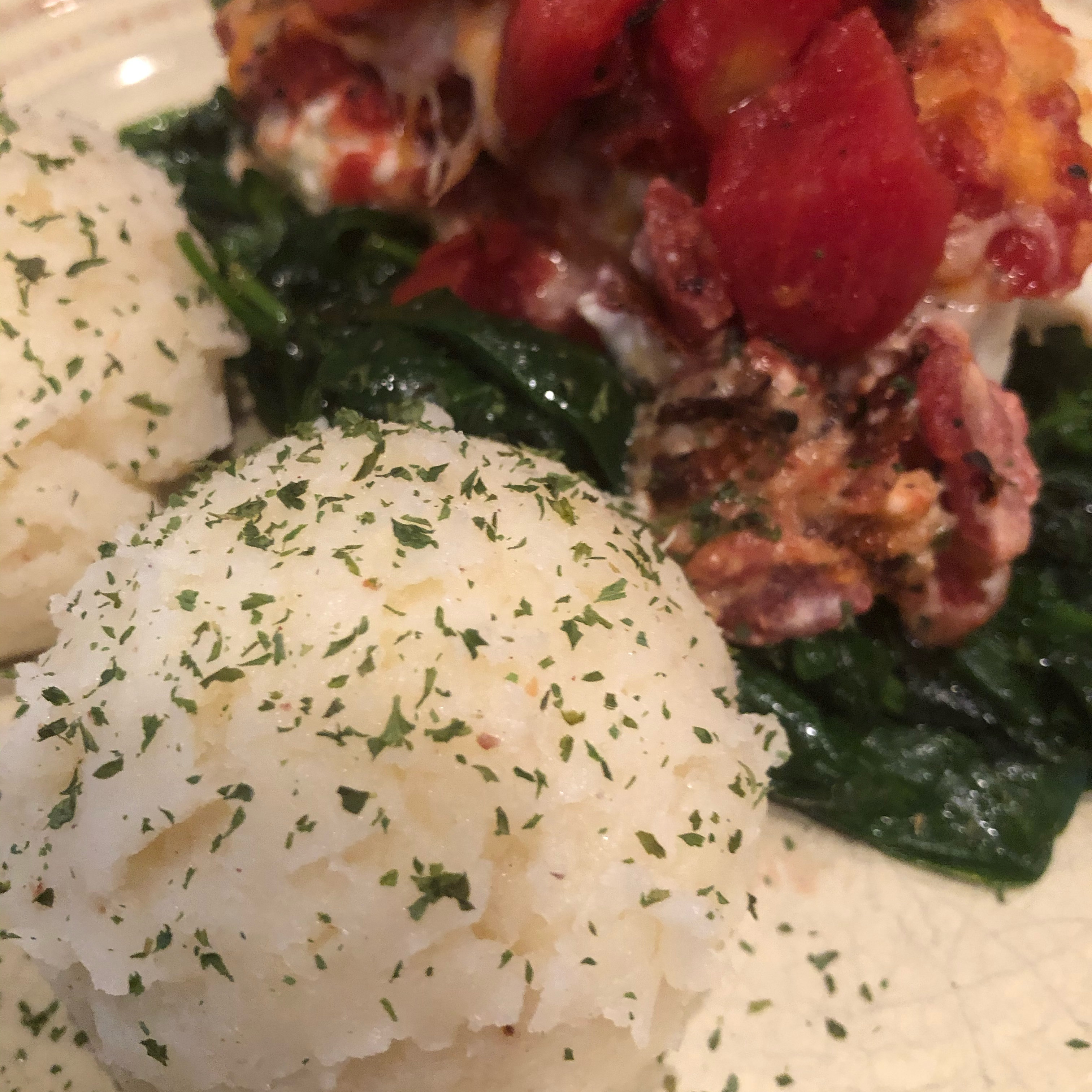 Baked Cod with Boursin Herb Cheese