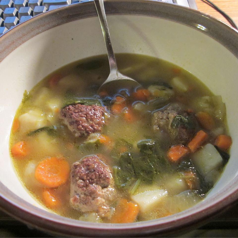 Homemade Albondigas Soup Turbodonkey