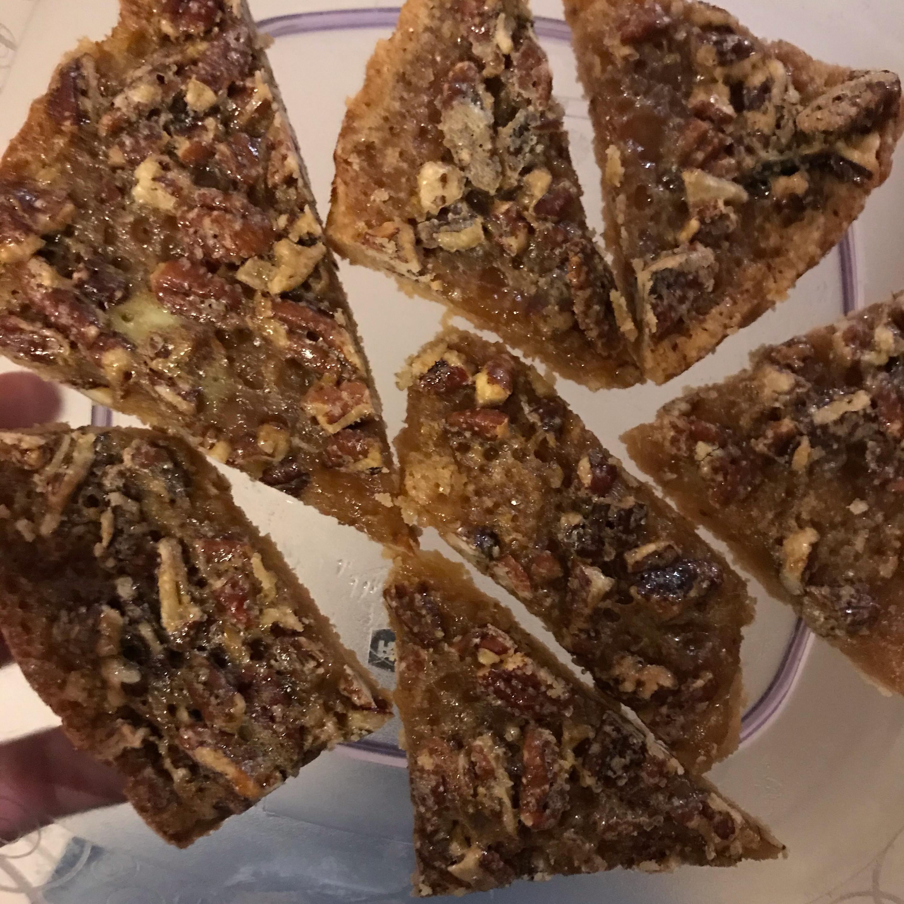 Maple Pecan Shortbread Squares