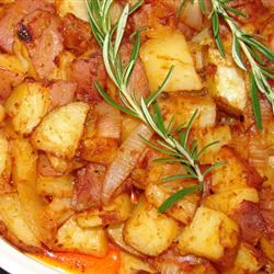 Brilliant Potatoes With Paprika and Caramelized Onions