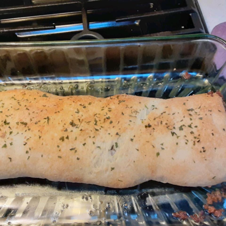Picnic Sausage Bread Maura P