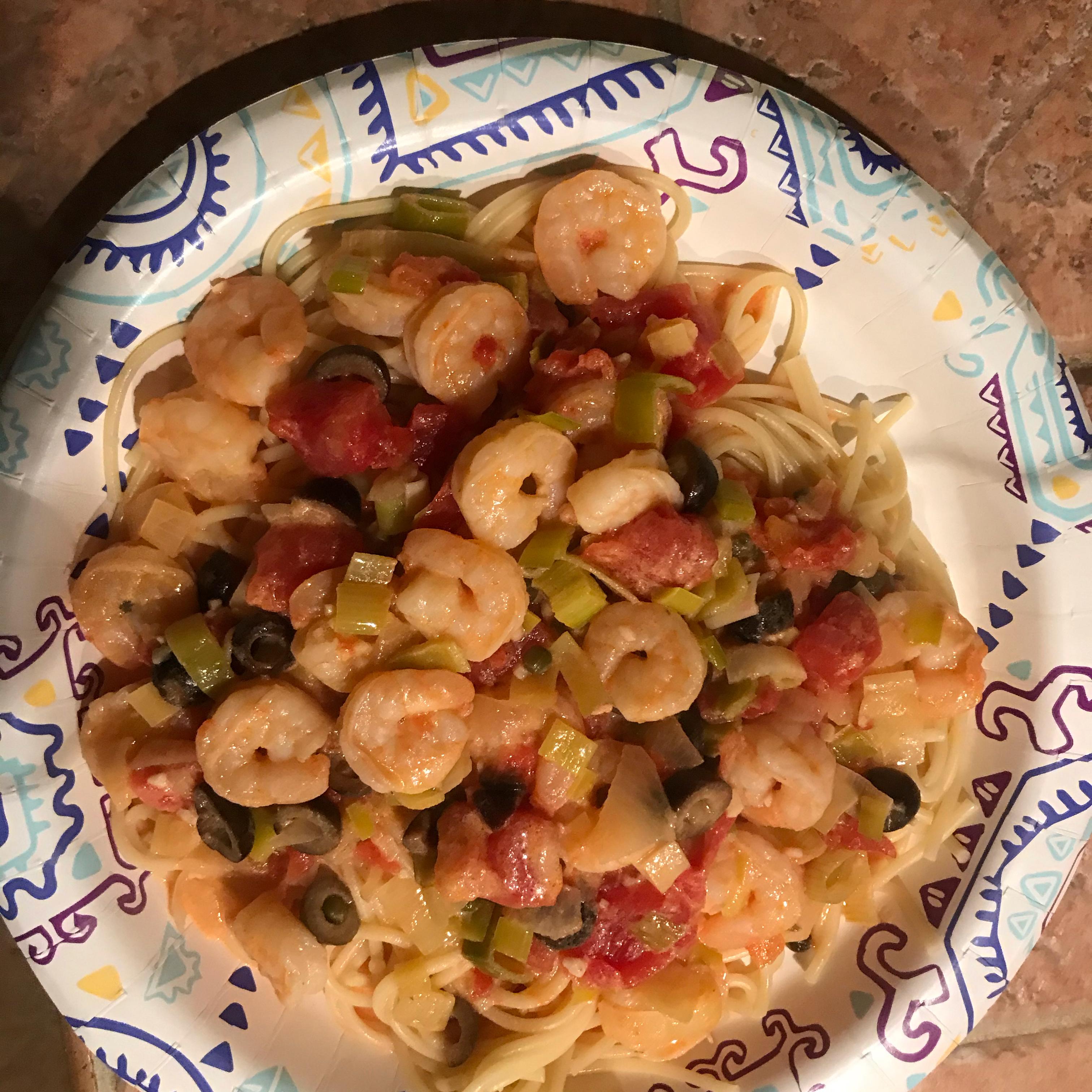 Shrimp Scampi Pasta with White Wine Sauce
