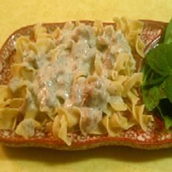 White Sauce with Ham and Herbs Julee Morrison