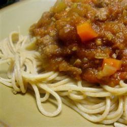 Mom's Spaghetti Bolognese mommyluvs2cook
