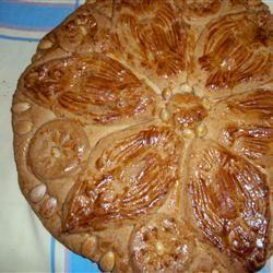 Vaselopita - Greek New Years Cake STAMAR