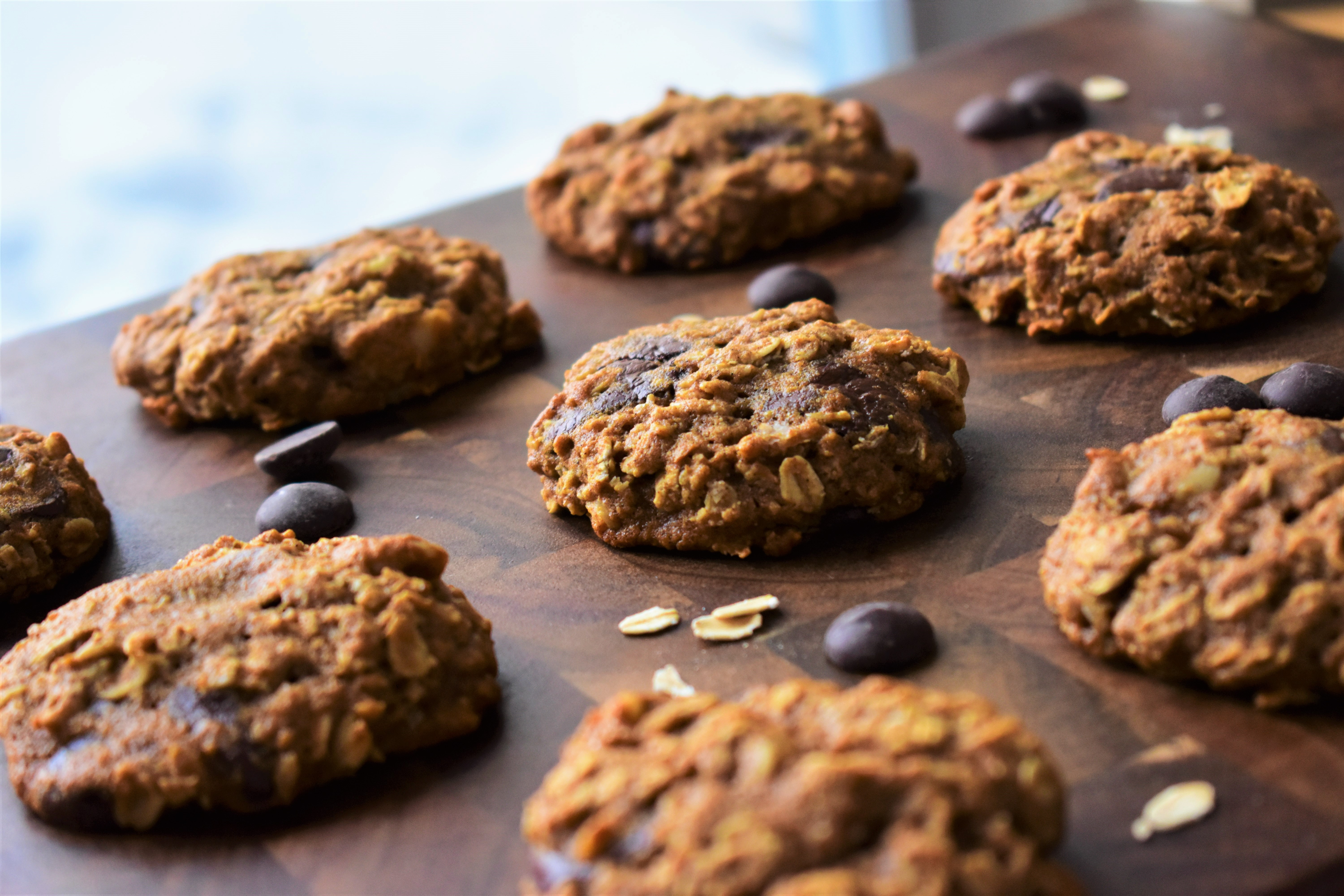 Healthy Oatmeal Cookies with Honey