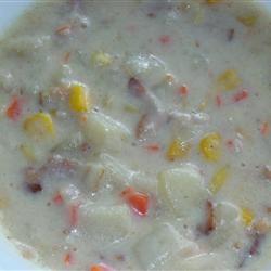 Snow Days Potato Soup janet7th