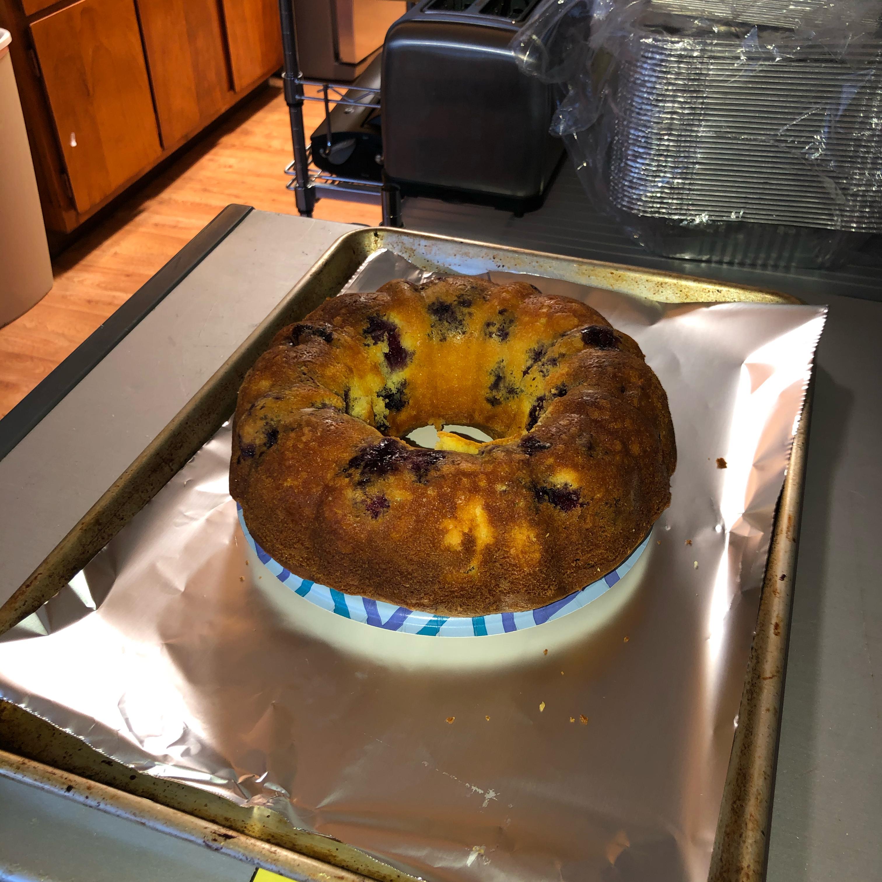 Easy Lemon-Blueberry Bundt® Cake maria