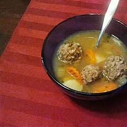 homemade albondigas soup recipe