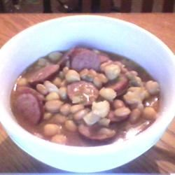 Slow-Cooker Baked Bean Stew Cook and a half
