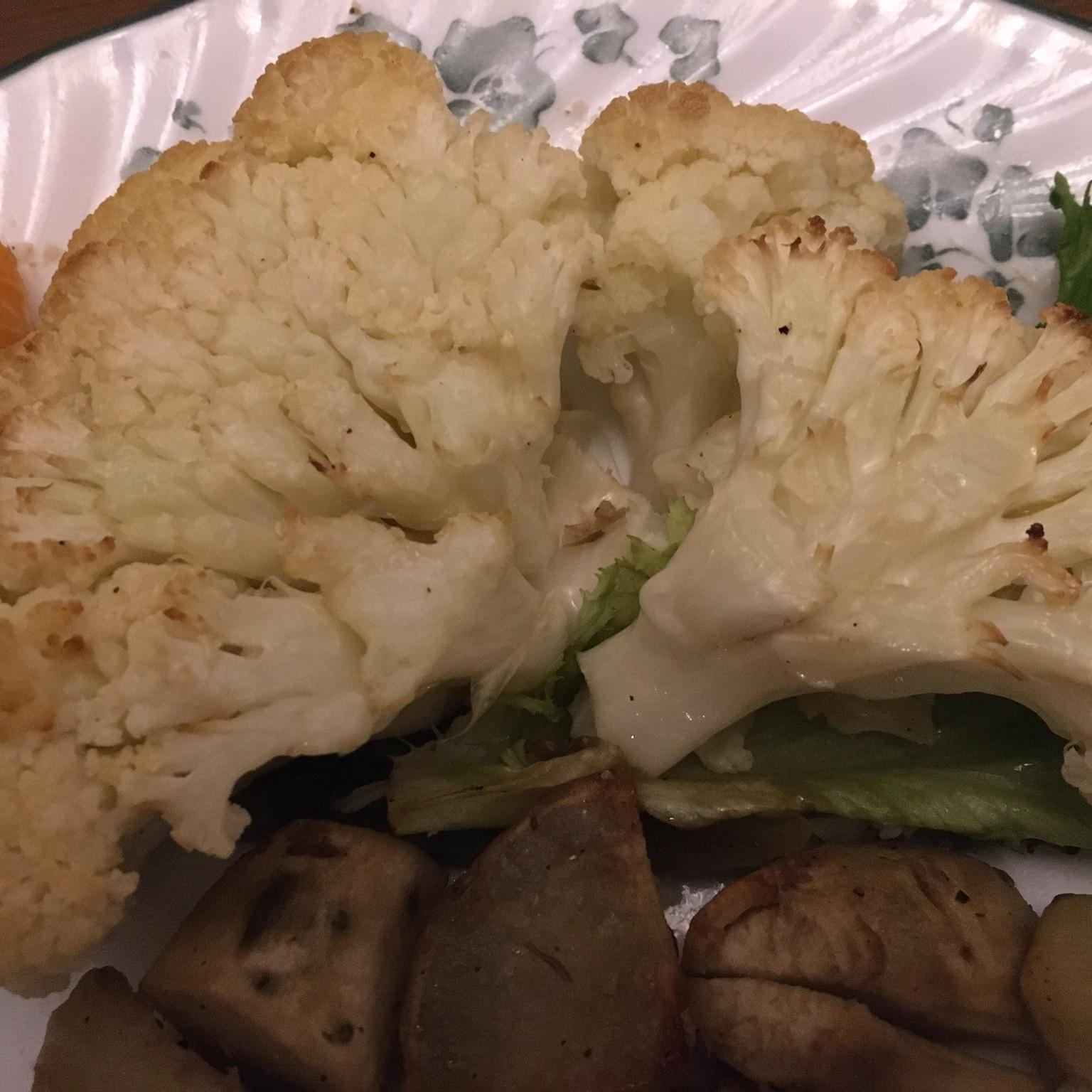 Roasted Cauliflower 'Steaks'