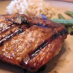 Firecracker Grilled Alaska Salmon