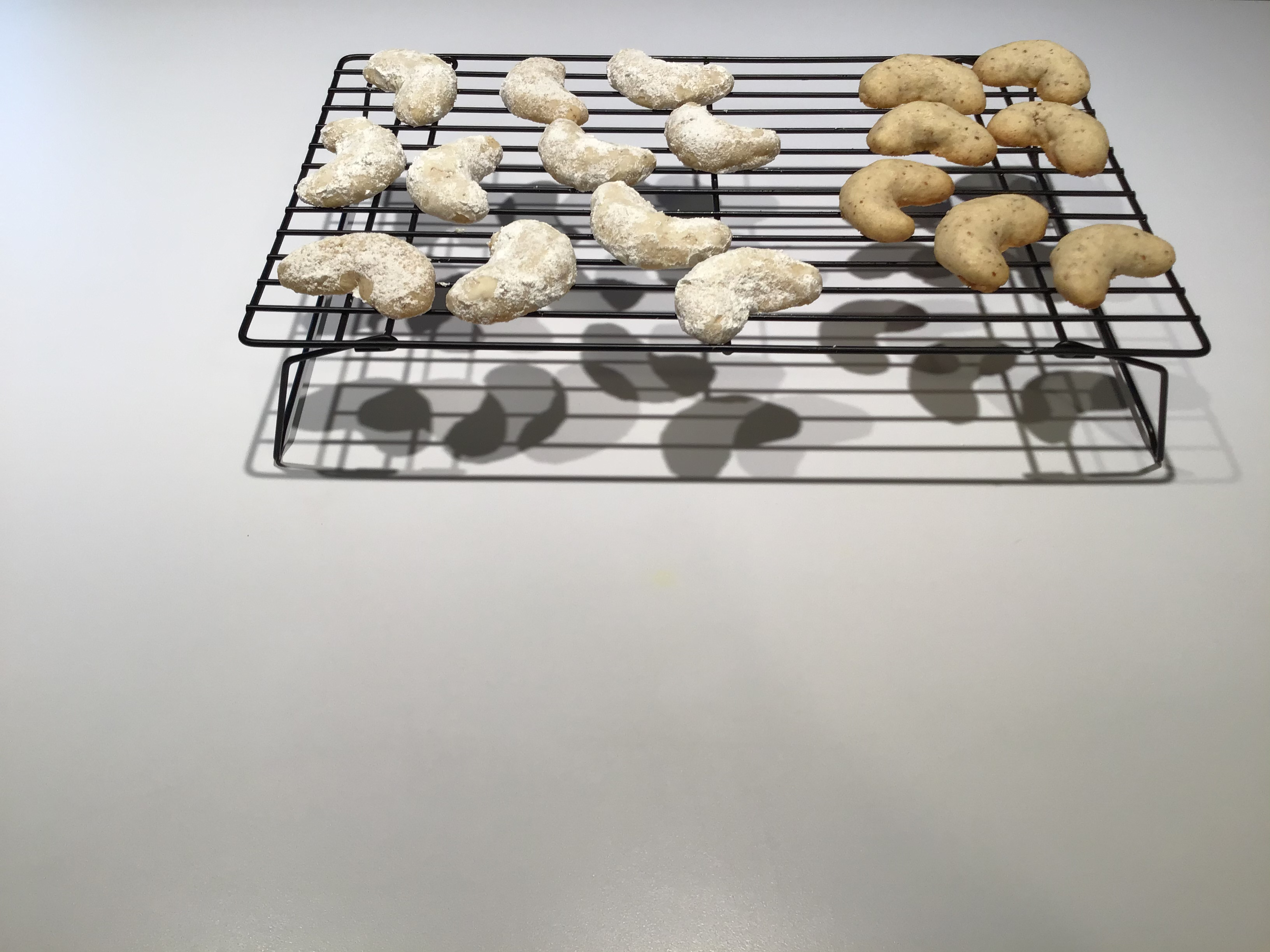 Almond Crescent Cookies Deb