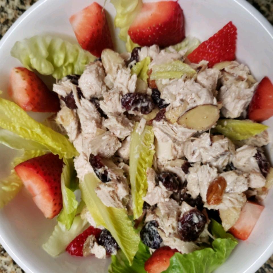 Cranberry and Turkey Salad Donna thompson