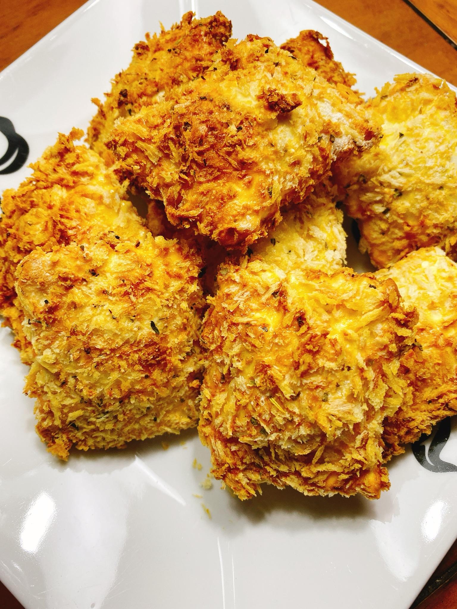 Crunchy Air-Fried Ravioli