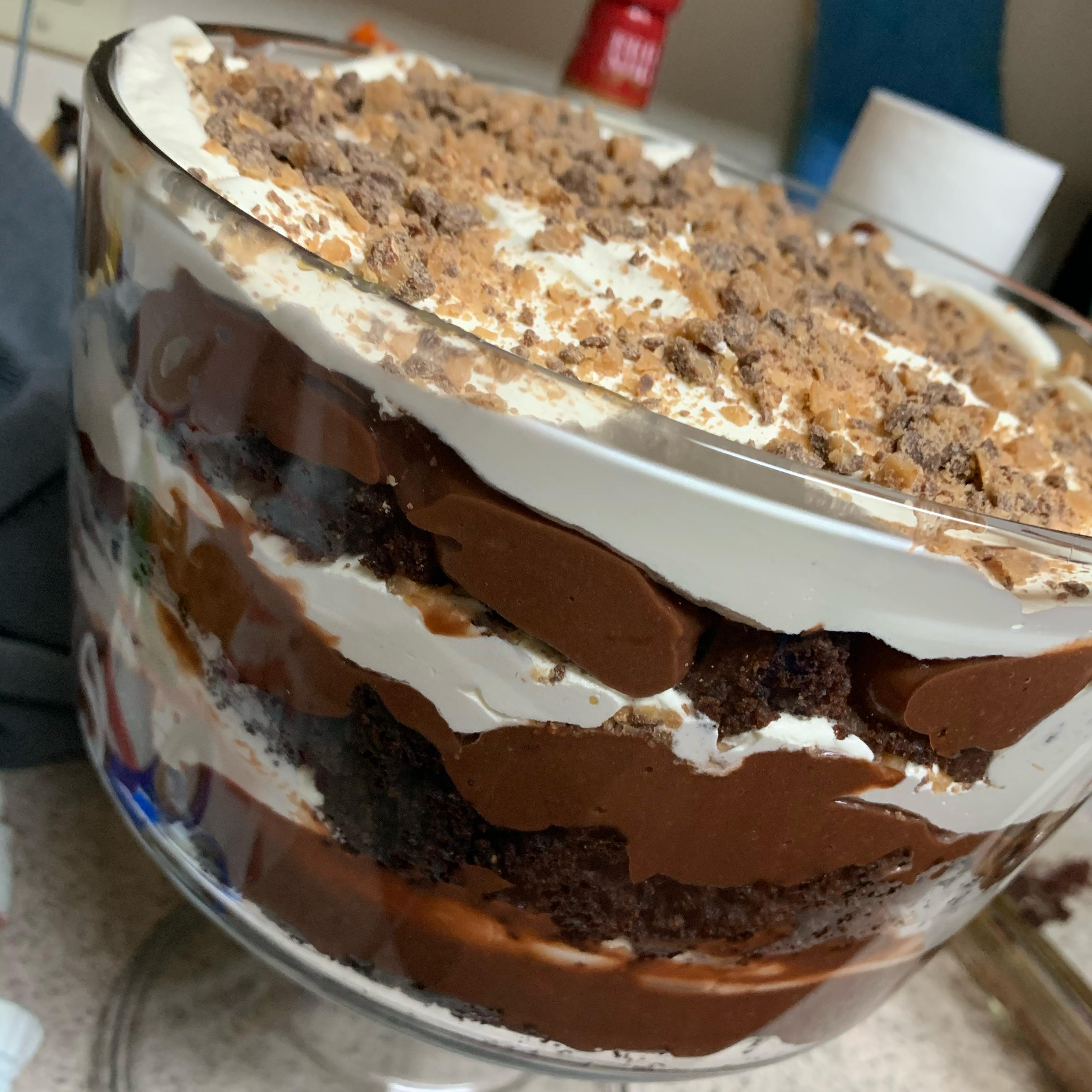Chocolate Trifle Raider Angie