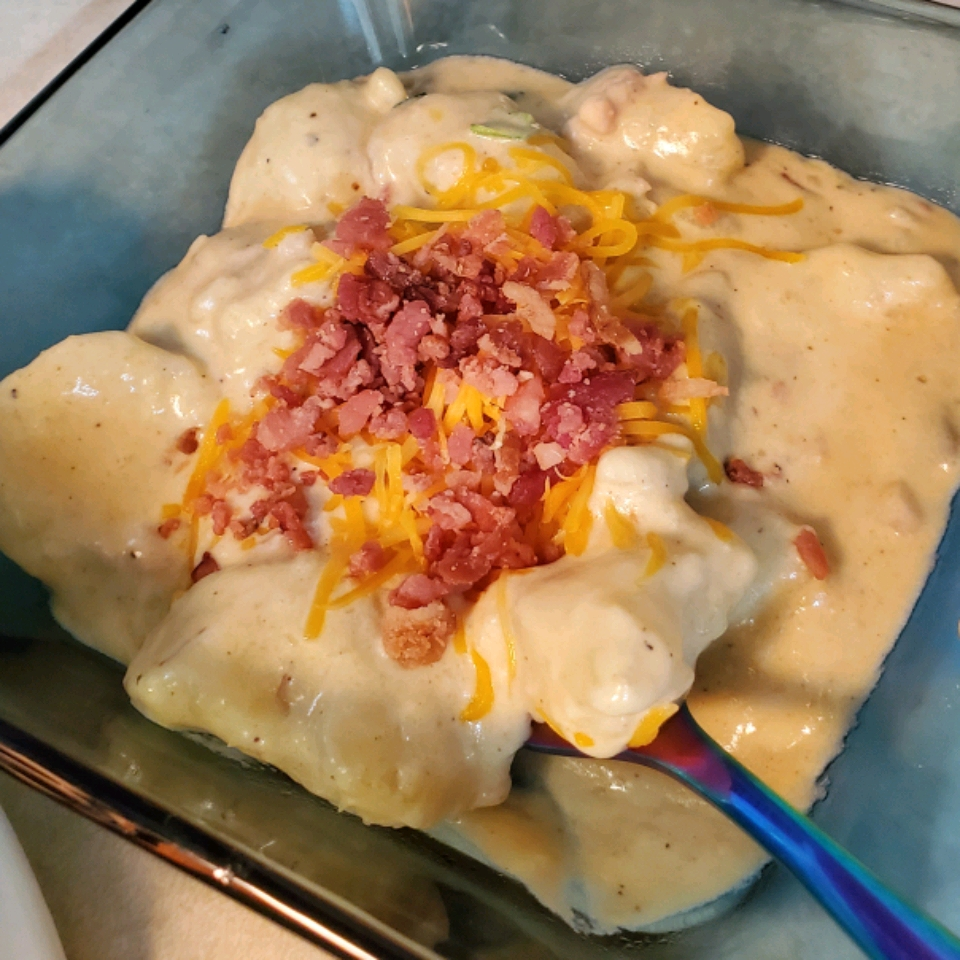 Loaded Chicken Potato Soup AshyChan