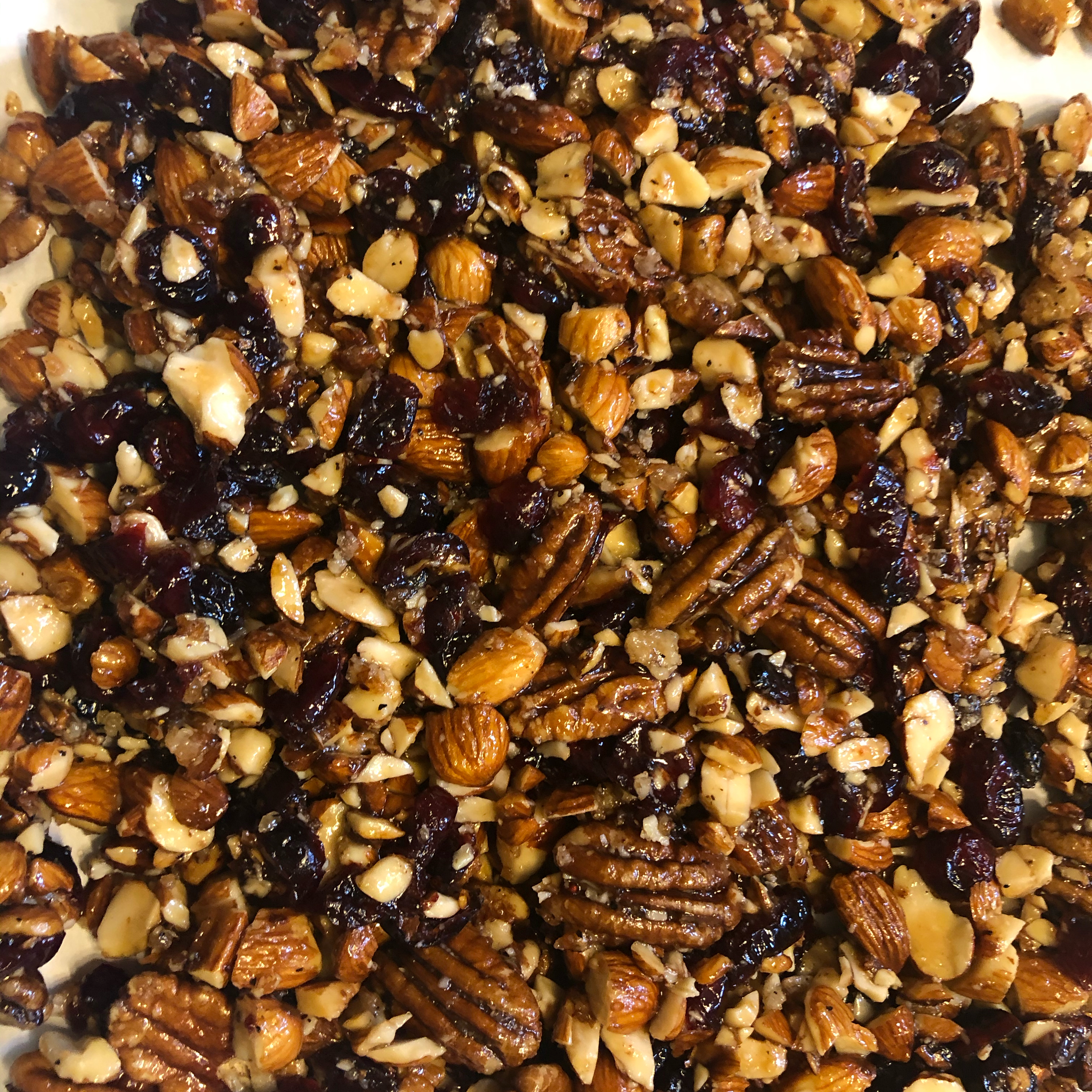 Sugared Toasted Almond Salad Topping AlaskaJenn
