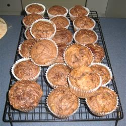 Chocolate Zucchini Muffins 2ys4you
