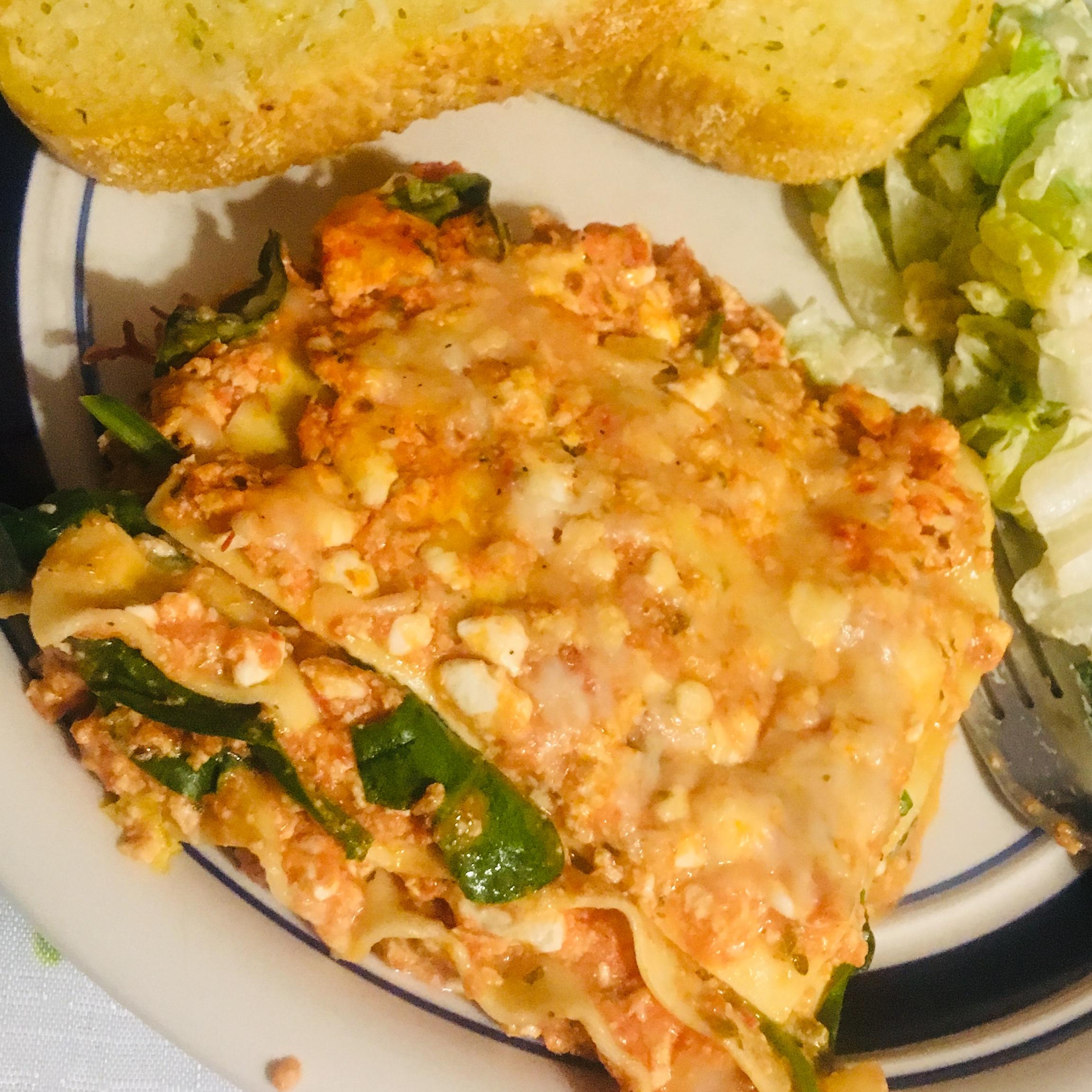 Tofu Lasagna crunchymom28