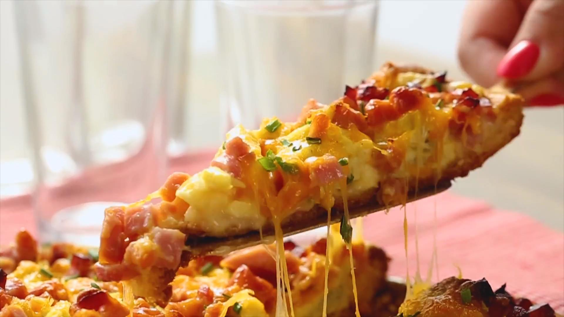 Eggs Benedict Breakfast Pizza Allrecipes Trusted Brands