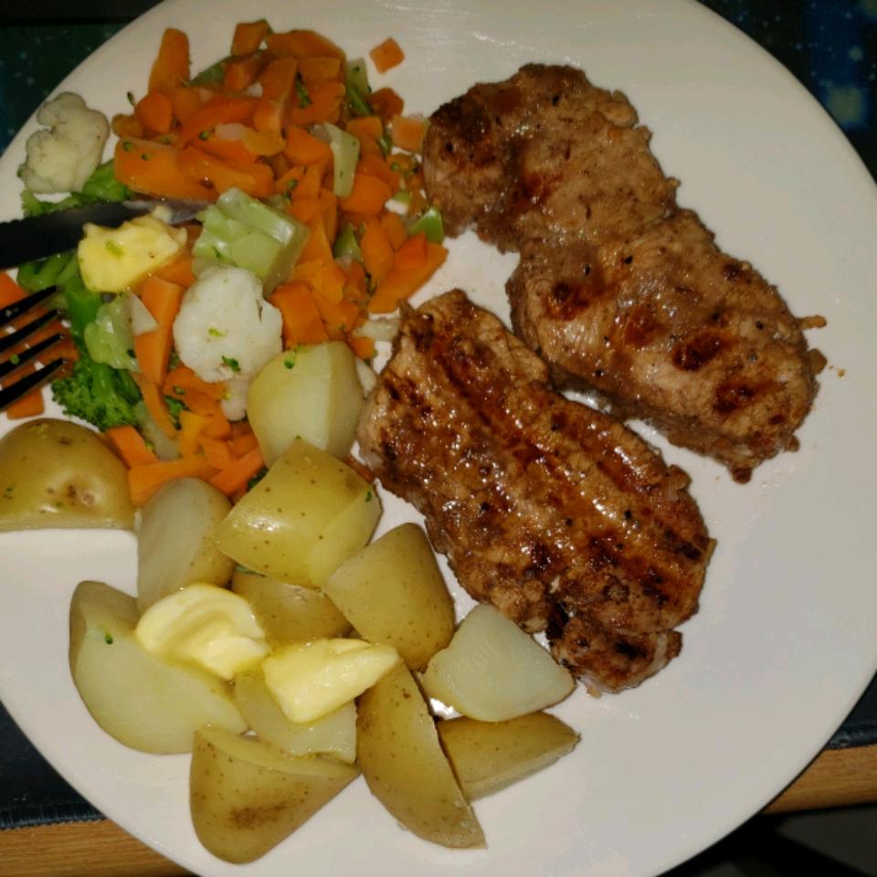 Smoky Grilled Pork Chops Sherrie Stanley