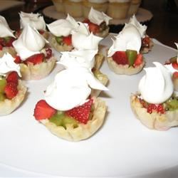 Strawberry Kiwi Tartlets clkonings
