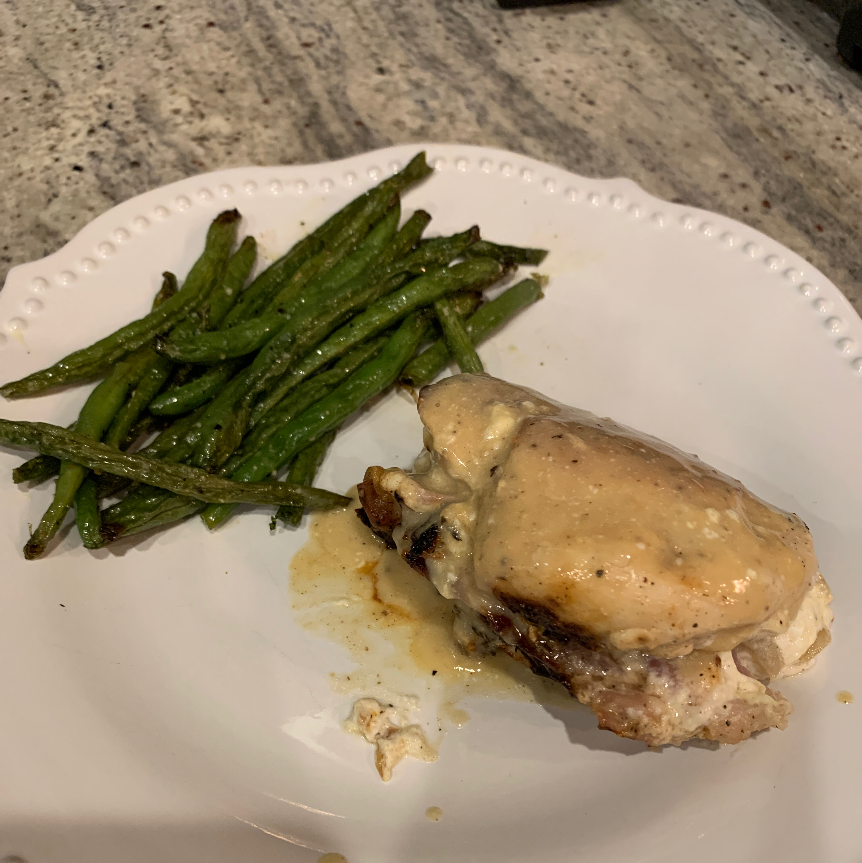 Cream Cheese and Prosciutto Stuffed Chicken Stacey